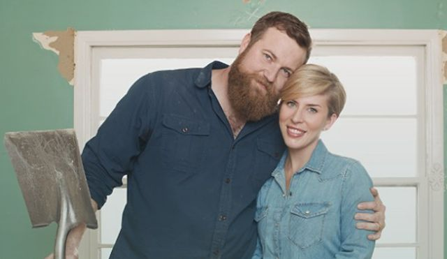 Ben & Erin Napier on Home Town HGTV - Source: Instagram