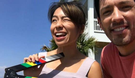 Linda Phan and Drew Scott on HGTV