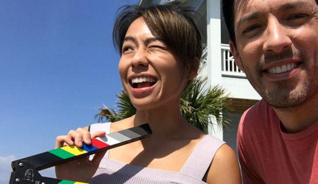Linda Phan and Drew Scott on HGTV